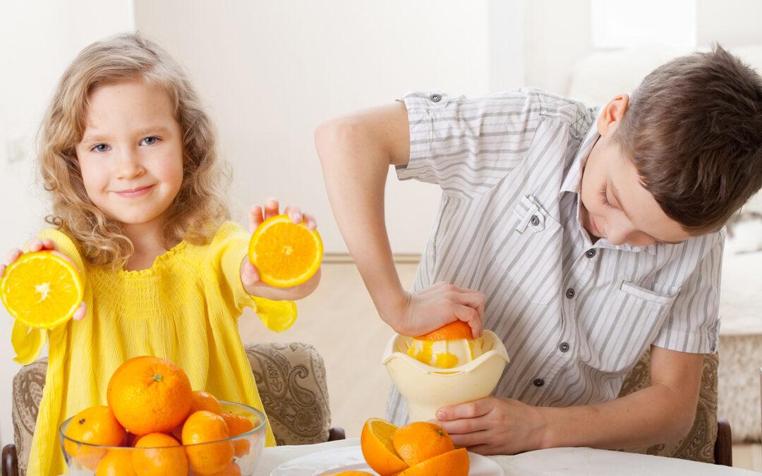 Der Streit um die Orange – eine Geschichte zum Thema Mediation