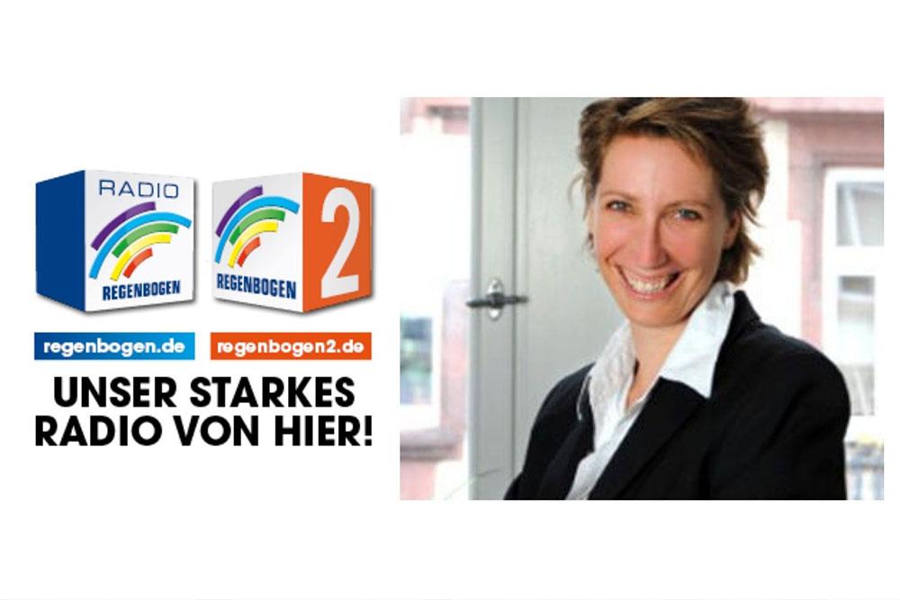 Nina Scheitweiler im Interview RADIO REGENBOGEN